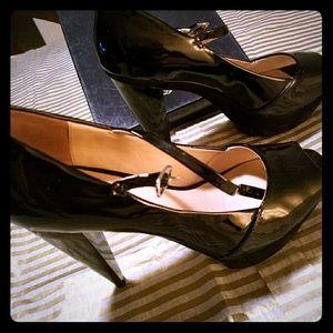 Pour la Victoire Shoes - Pour la Victorie black pumps heels 8.5