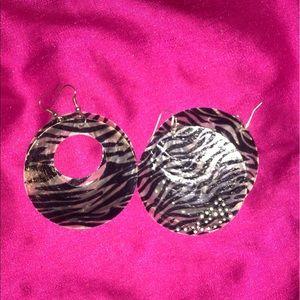 Claire's Jewelry - Zebra Earrings