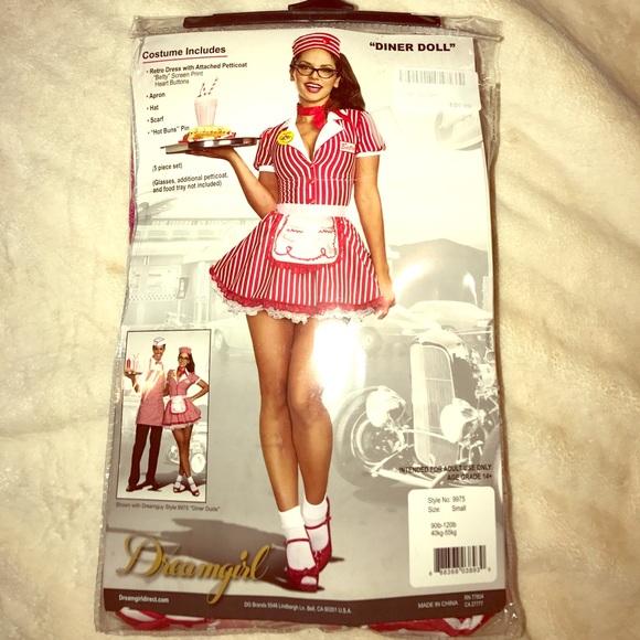 ce4312e0e48c Dreamgirl Other | Diner Doll Costume Size Small | Poshmark