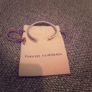 David Yurman Jewelry - David Yurman gold cable classics chain bracelet