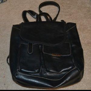 Fratelli Rossetti Handbags - Rossetti Black Leather Backpack Purse