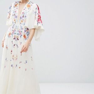 ASOS Petite Dresses & Skirts - NWT! ASOS Petite Embroidered Kimono Dress