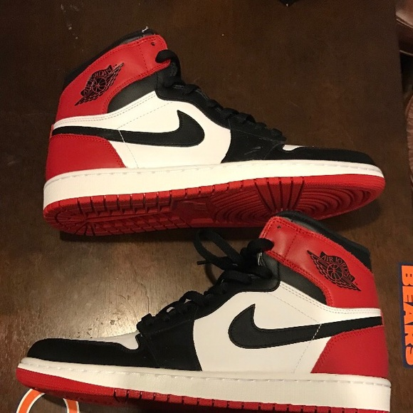 hot sales 1d4fa 50dd6 Retro 1 black toe unworn