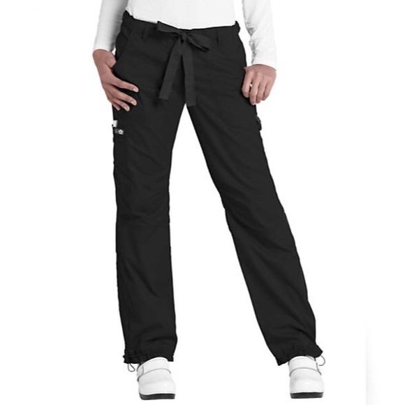d87462a045b koi Pants | 701 R Lindsey Black Cargo Pocket Scrub | Poshmark