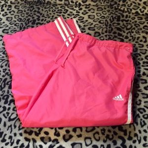 BDAY SALENWOT Pink Adidas Athletic Capris