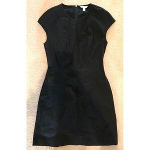 GAP black linen dress!