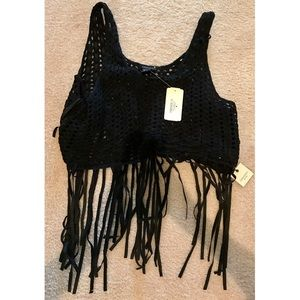 Forever 21 Tops - Brand new F21 knit crop top!