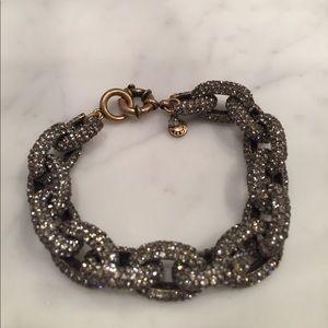 J. Crew Jewelry - J. Crew Classic Chain Pave Bracelet