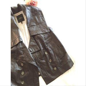 Robert Rodriguez Jackets & Blazers - RARE robert rodriguez Avant-Garde Leather Vest S