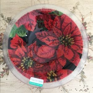 Peggy Karr Other - Peggy Karr Poinsettia Bowl/Tray