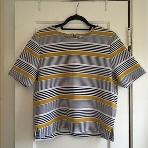 Old Navy Striped Boxy Top