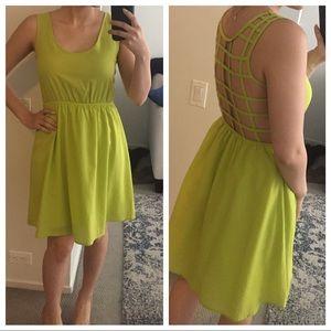Ya Los Angeles Dresses & Skirts - Ya Los Angeles open cage back dress
