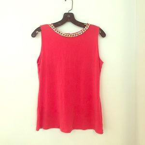 Calvin Klein Tops - Sale! NWOT Calvin Klein top with chain necklace