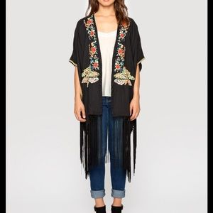 Johnny Was Tops - Johnny Was Anabelle Fringe Kimono