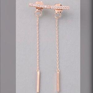 Jewelry - ❤️Dainty Rose Gold Earrings❤️