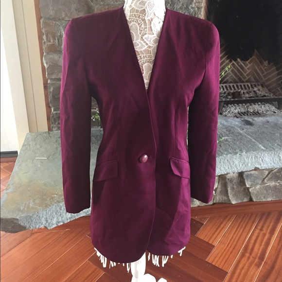 Dior - Vintage Dior purple long blazer from Dee's closet on Poshmark