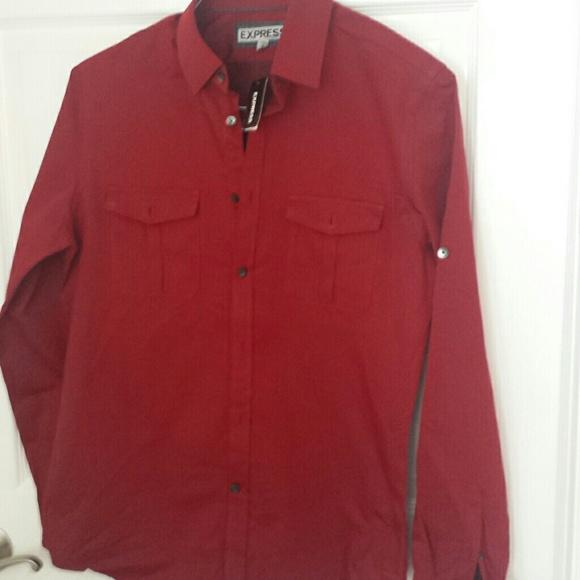 wine color shirt
