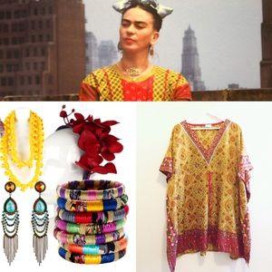 Dresses & Skirts - New Frida Boho Dress, M/L