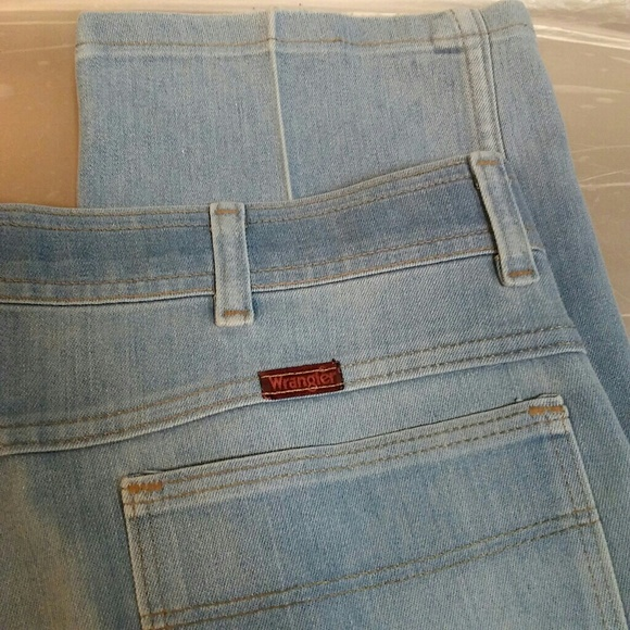 62 off wrangler other vintage 1970s wrangler stretch jeans made in usa from solaimon 39 s. Black Bedroom Furniture Sets. Home Design Ideas