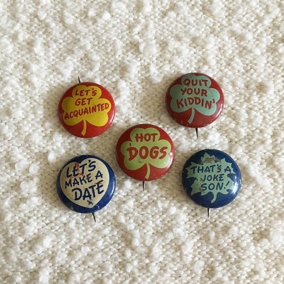 '50s / Gumball Prize Pinbacks