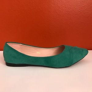 Ollio Shoes - Emerald flats