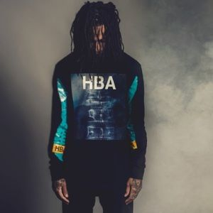 Hood by Air Tops - Hood By Air long sleeve graphic FW13