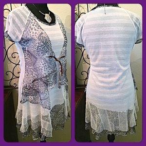boutique Dresses & Skirts - 30% OFF BUNDLES✨Perfect Summer Mixed Media Dress✨