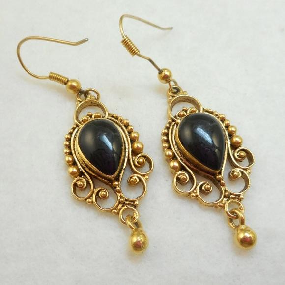 f8522b6745aee1 Jewelry   Vintage Etruscan Revival Earrings   Poshmark