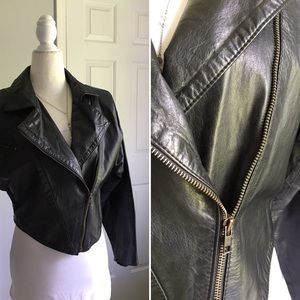 Pierre Balmain Jackets & Blazers - Pierre Balmain Leather Jacket from the 80s
