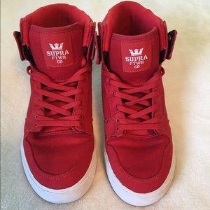 Supra Shoes - NWOT Red Supras