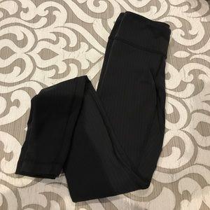 Lululemon pinstripe wunder under pant. Size 2