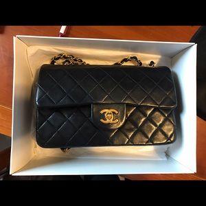 【SOLD ! 】Chanel  classic small lambskin handbag