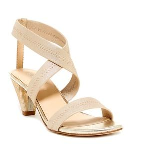 Donald J. Pliner Shoes - 🆕 DONALD J PLINER vona criss cross gold sandal
