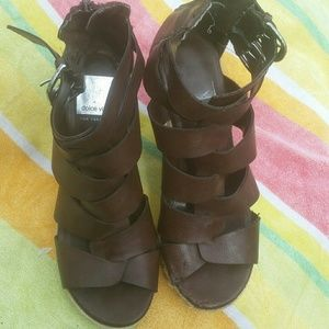 Dolce Vita Shoes - Dolce vita gladiator wedge sandals size 5.5