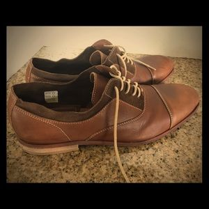 H By Hudson Other - H by Hudson used tan oxfords