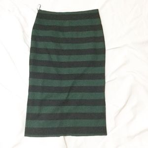 Mango Dresses & Skirts - MNG Striped Midi Skirt