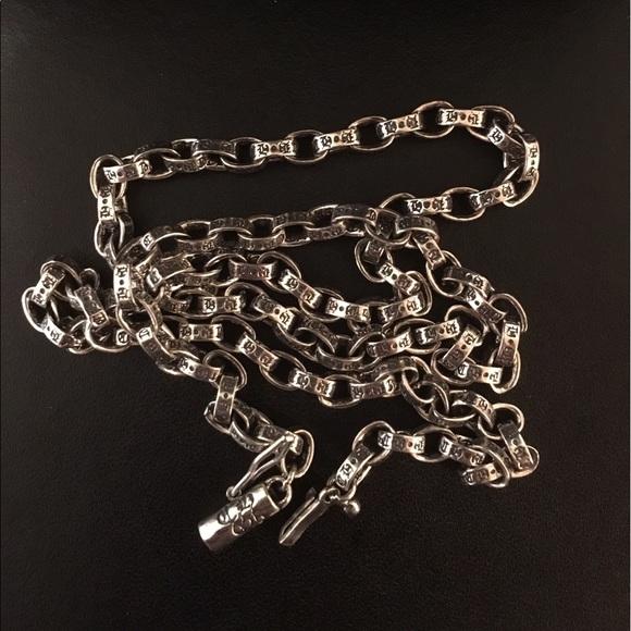 bce5dd0e53c5 Chrome Hearts Necklace Chain