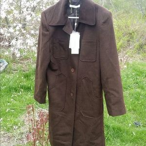 Angelica Jackets & Blazers - NWT Brown trench coat Nice!