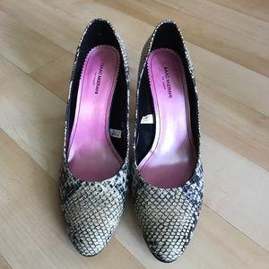 Isaac Mizrahi Shoes - New Tan/black Isaac Mizrahi leather shoes