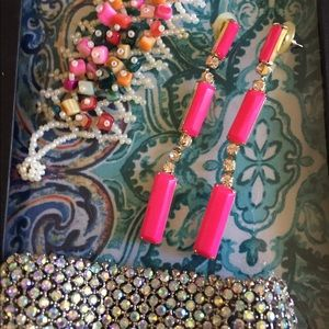Jewelry - 2 bracelets and pink earrings