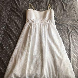 Women\'s White Maurices Summer Dress on Poshmark