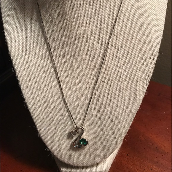 Kay Jewelers KAYS JEWELERS OPEN HEART EMERALD NECKLACE from 🌞rebakoonce🌞&