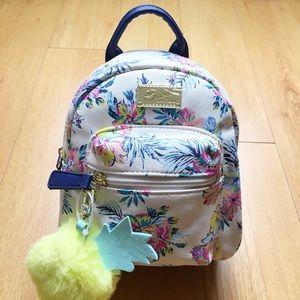 Betsey Johnson Handbags - Betsey Johnson Tropical Floral Print Mini Backpack
