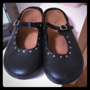 Adorable Rubber Backless Flats by Dafna by Naot