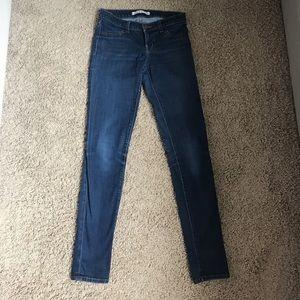 Jbrand starless skinny dark stretch jeans 26