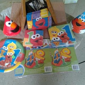 Other - Elmo 1st bday novelties
