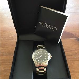 Movado Other - Never worn handsome Movado men's watch