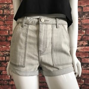Free People Pants - NEW Free People High Waist Rolled Up Shorts
