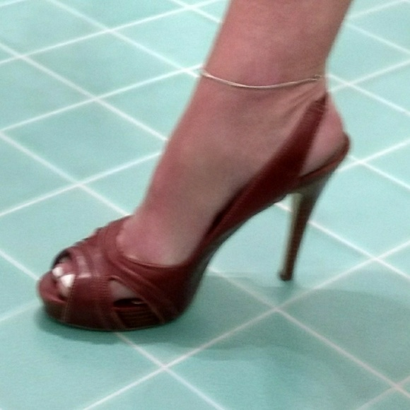 b5bb7efa9a75 Calvin Klein Shoes - Sexy Vintage Calvin Klein Platform Peep-Toe Pump