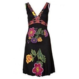 Desigual Dresses & Skirts - Desigual jersey bubble hem floral dress